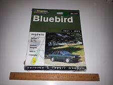 Gregorys Workshop Service Repair Manual No.191 Bluebird Series 1 1981-83