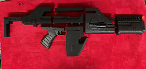 Aliens M41A pulse Rifle Prop kit correct stock barrel & mag movie scale 3D print