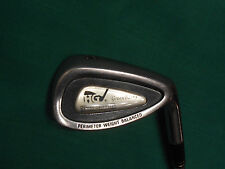 HENRY GRIFFITTS GREEN BACKS 8 IRON - R FLEX STEEL SHAFT - GOOD CONDITION!