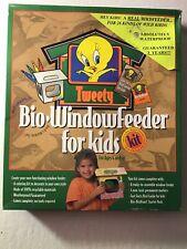 Looney Tunes Tweety Bird Bio-Windowfeeder For Kids, Complete Kit, New, Birdhouse