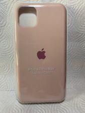 Original Apple iPhone 11 Pro Max Silikon Case in Sandrosa