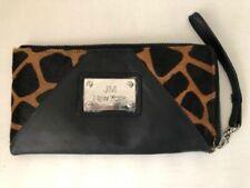 Joy Mangano Wallet ID Credit Card Slots Leather & Ponyhair Wallet