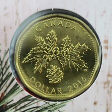 Canada 2016 Holiday Gift Set with Unique Holiday Loonie in a 5-coin Set