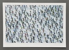 Rémy Steinegger Photo 17x24cm Engadin Ski-Marathon Langlauf Lago die Sils 2001