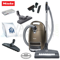 Miele Brilliant C3 Complete Canister Vacuum Cleaner -Luxury Cleaning-HEPA Filter