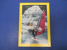 National Geographic Magazine, March 1988, China by Rail; Anchorage; Falklands