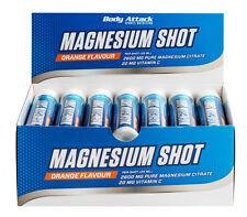 Body Attack Magnesium Shot 20 x 25ml Ampulle Hochdosiertes Magnesium-Citrat