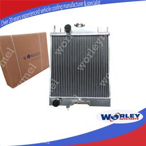 QLD 2 Row Aluminum Radiator For SUZUKI SWIFT GTI 1.0 1.3 1.6 1989-1994 Manual