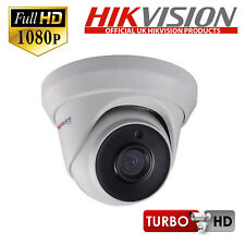 Hikvision HiWatch HD-TVI 1080P IP67 Dome Camera with 40M EXIR Night Vision 2.8mm