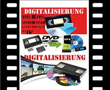 Analog Videos x VHS-C- Video 8, Hi8, MiniDV, D8, auf DVD digitalisieren
