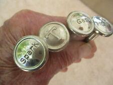 1916-1920 NOS Dash knobs, Pull type set of 4, Cadillac, Marmon, Hudson,