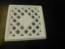 Plaster Air Vent cover with bug mesh