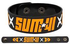 SUM 41 Rubber Bracelet Wristband 13 Voices