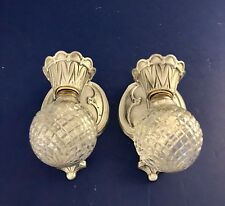 Wired pair antique Markel Wall Sconces Wall Fixtures 60F