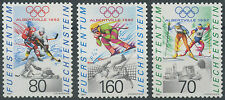 1992 LIECHTENSTEIN N°971/973**  Jeux olympiques 1992 SKI,  Olympic games Sky MNH