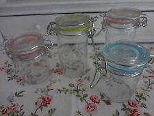 kleine Gläschen Gewürzbehälter Küche Shabby Chic Marmelade Glas Dosen