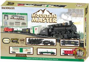 Bachmann 00731 HO Mountain Master Ready-to-Run Electric Train Set