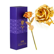 24K Eternal Gold Dipped Rose ADORE INFINITY ROSE Valentine's Day Best Gift