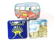 Santiago de Compostella Foto Magnet 3er Set Kathedrale Souvenir Spanien