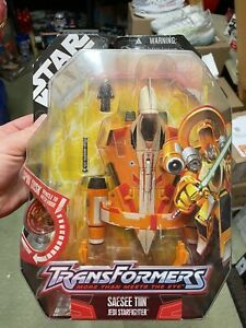 Star Wars Transformers SAESEE TIIN JEDI STARFIGHTER