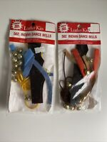 Vintage NEW Art N Leather USA 502 Indian Dance Bells Kit Scouts Lot of 2 Craft