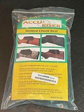 Accu-Riser Molded Cheek Rest Interchange Gun Stock Riser - Black