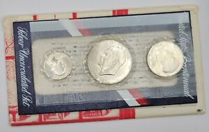 1976-S U.S. Mint Bicentennial Silver Uncirculated Set 40%  Same Day Shipping