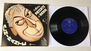 """ULTRA RARE LP 10"""" BRAZIL JAZZ SAMBA MPB 1956 ALMIRANTE A MAIOR PATENTE DO RADIO"""