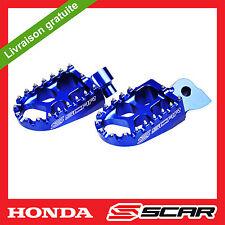 REPOSE CALE PIED EVO HONDA 125 150 250 450 CR CRF CRF250R CRF450R BLEU SCAR