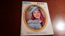 VINTAGE WOOLWORTH RUG YARN VOL. 1 ~ RUGS, HAT, PILLOWS AND MORE!