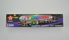 1996 Collectors Texaco Gas Station Olympic Games Toy Tanker Truck in Box
