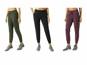 Mondetta Ladies' Jogger with Side Pockets High Rise Fit