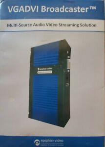 Epiphan VGADVI Broadcaster Portable VGA, DVI, HDMI Video Streaming Device
