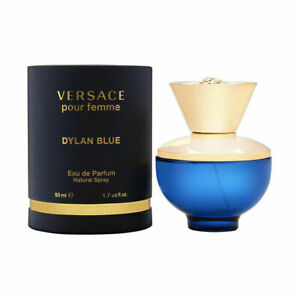 Dylan Blue Pour Femme by Versace for Women 1.7 oz EDP Spray Brand New