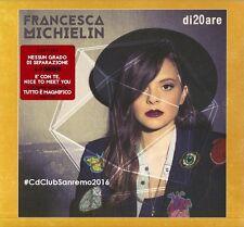 Francesca Michielin - di20are CD Special ed. (new album/sealed) Sanremo 2016