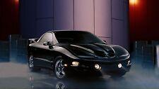 2002 Pontiac Firebird Trans AM Black POSTER 24 X 36 INCH