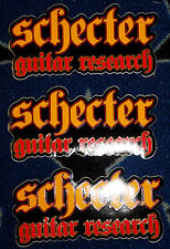"SCHECTER: ""STICKERS"" - ITEM NEW!!!!"