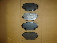D862 Premium Quality Semi Metallic FRONT DISC BRAKE PAD SET D862