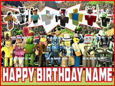 ROBLOX: Personalized edible cake toppers  FREE SHIPPING in Canada
