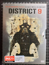 DISTRICT 9 Australian DVD 2 steelbook special edition South African alien sci-fi