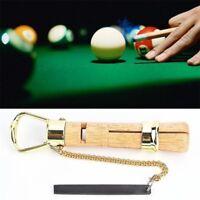 Wooden Cue Tip Clamp Repair Tool Billiard Pool Snooker Repair Accessories Useful