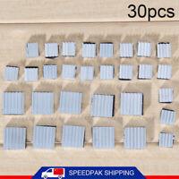 30pcs Universal Aluminum Heatsink Cooler Adhesive Kit for Cooling Raspberry Pi