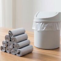 Mini Disposable Plastic Car Garbage Can Trash Bags Wastebasket Liner Small 5PCS