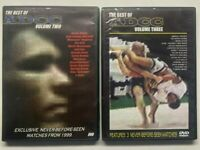 ADCC JIU JITSU DVD ~ LOT OF 2 DVDs ~ THE BEST OF ADCC VOLUME 2 & 3 ~ NICE PRICE!