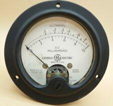 Vintage General Electric Kilowatt Meter Measures 0 1 Or 0 10 Kw Gauge