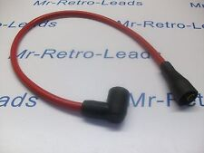 """RED 8MM PERFORMANCE 20"""" IGNITION LEAD COIL HT ALL CARS FROM  50s / 70s & MORE.."""