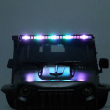 LED Light Bar Roof Lamp for 1/10 RC Crawler Traxxas TRX4 Axial SCX10 90046 D90