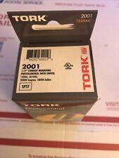 New Tork 2001 Photocell Photocontrol 12 Conduit Mount Swivel 120vac Spst Nsi