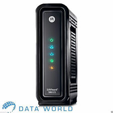 Motorola SB6121 Cable Modem DOCSIS 3.0 Time Warner Charter Cox RCN WOW Comcast