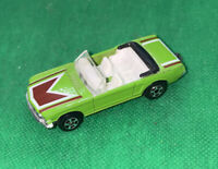 Playart Green Ford Mustang Convertible Vintage Die-Cast Car